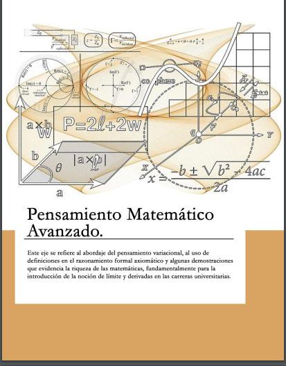 Pensamiento Matemático Avanzado